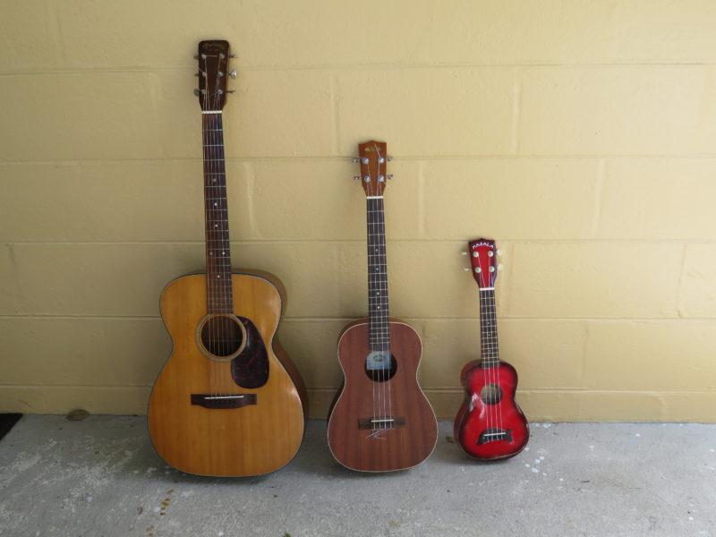 Baritone Ukelele, not Guitar, not Small Ukelele